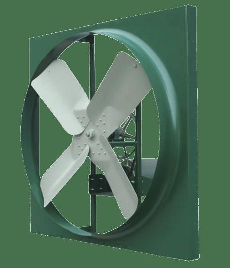Ventilador helicoidal color