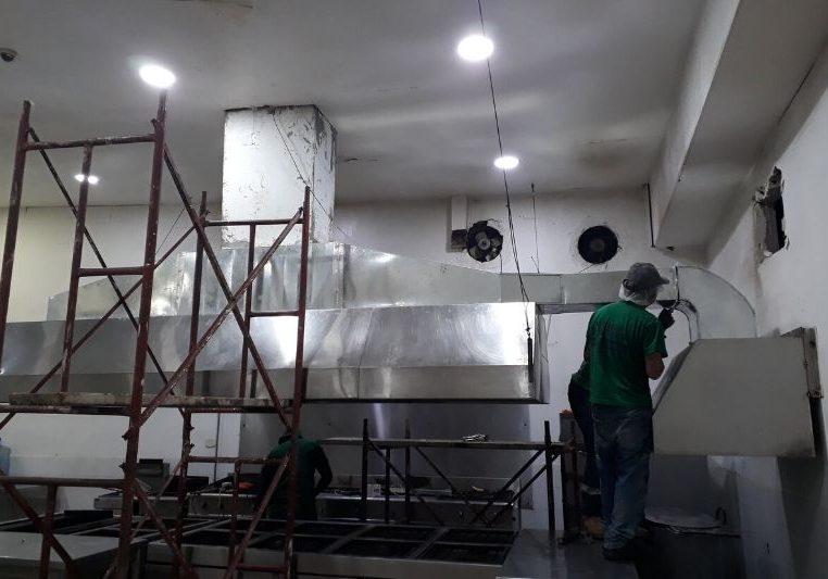 Ducteria para extraccion de aire