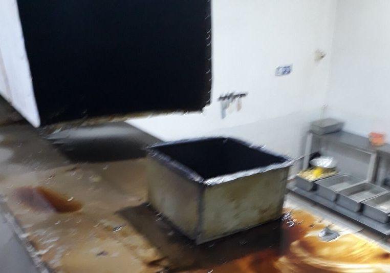Limpieza de ducteria de campana de cocina