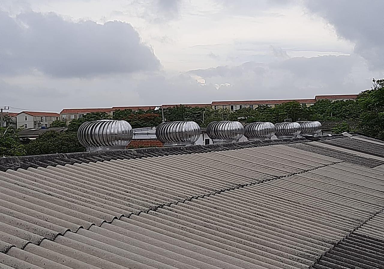 extractores eolicos barranquilla