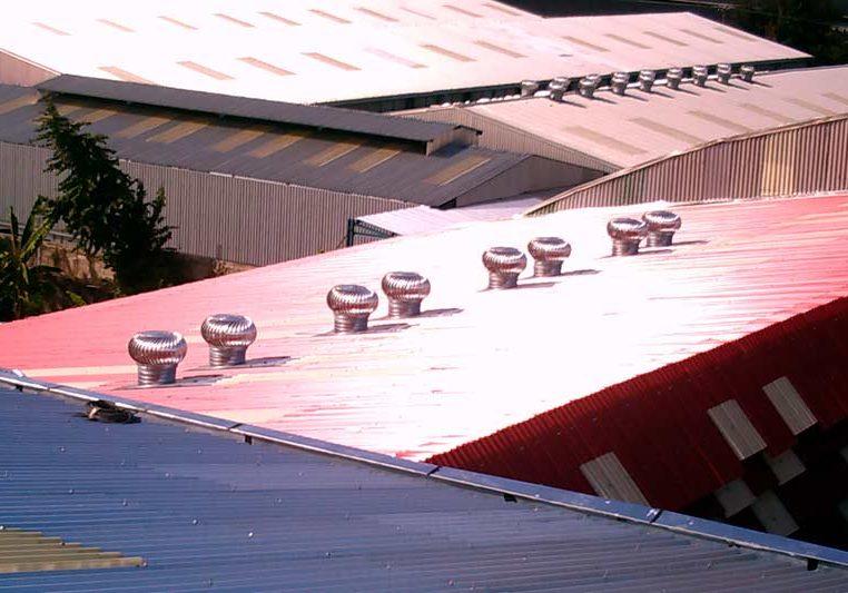 extracto de calor en los techos