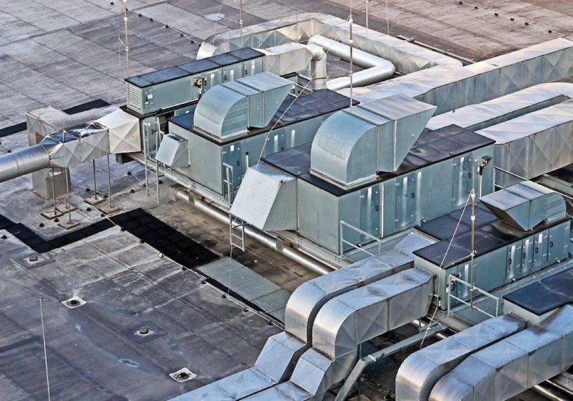 ducteria de aire acondicionado
