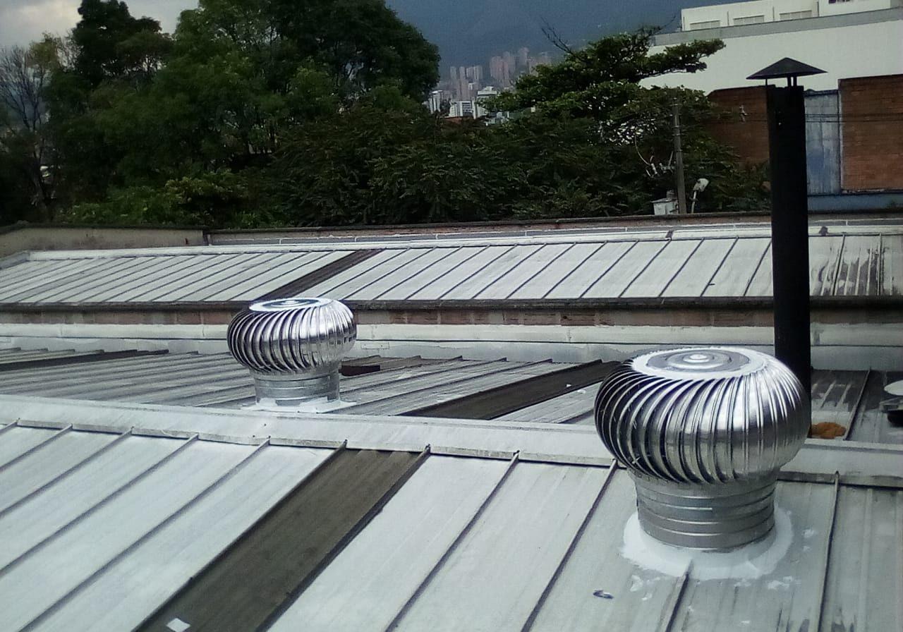 extractores eólicos tejidos doble A