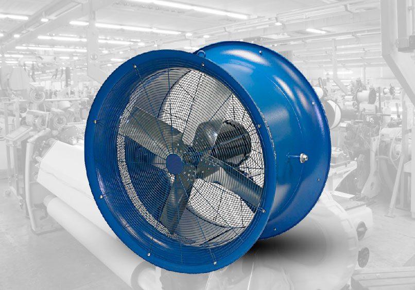 Ventilador tubo axial