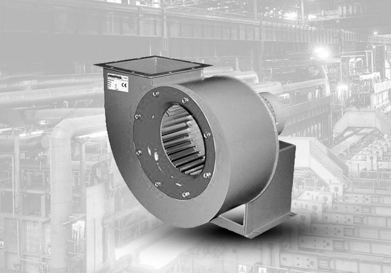 ventilador centrifugo aspa curvas