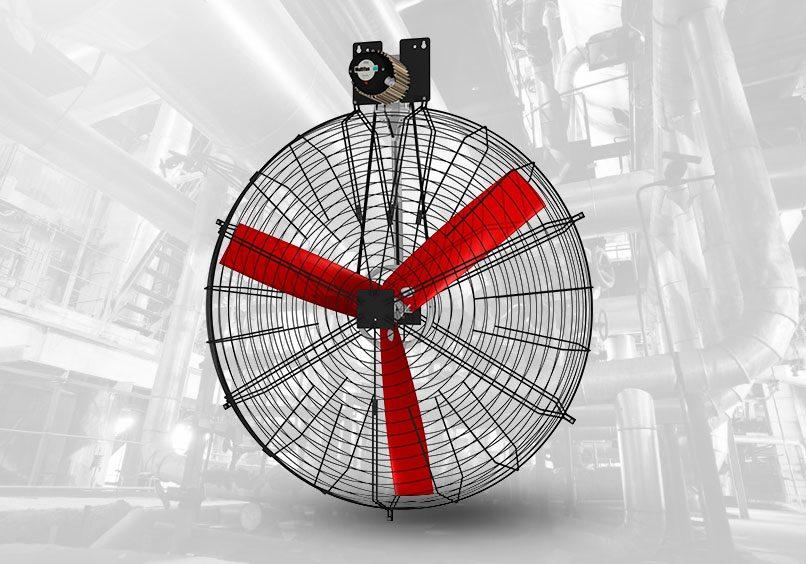 ventilador para ventilar áreas